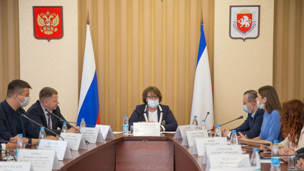 Елена Романовская: Республика Крым готова стать площадкой для международных съездов представителей молодежных правительств