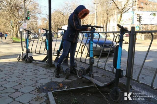 Похититель электросамоката попался правоохранителям Евпатории