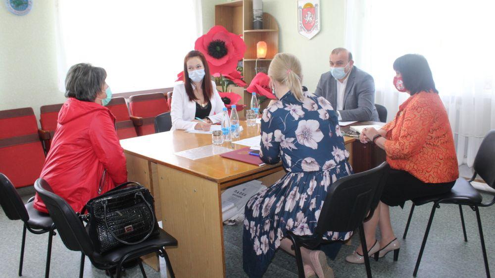 Состоялся рабочий выезд главы администрации Симферопольского района в Первомайское сельское поселение