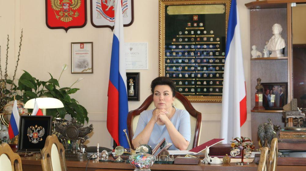 Арина Новосельская приняла участие в совещании по вопросам реализации инфраструктурных проектов в Республике Крым