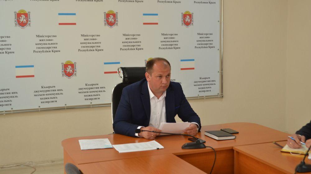 Сергей Донец принял участие в совещании о ходе реализации инфраструктурных проектов в Республике Крым