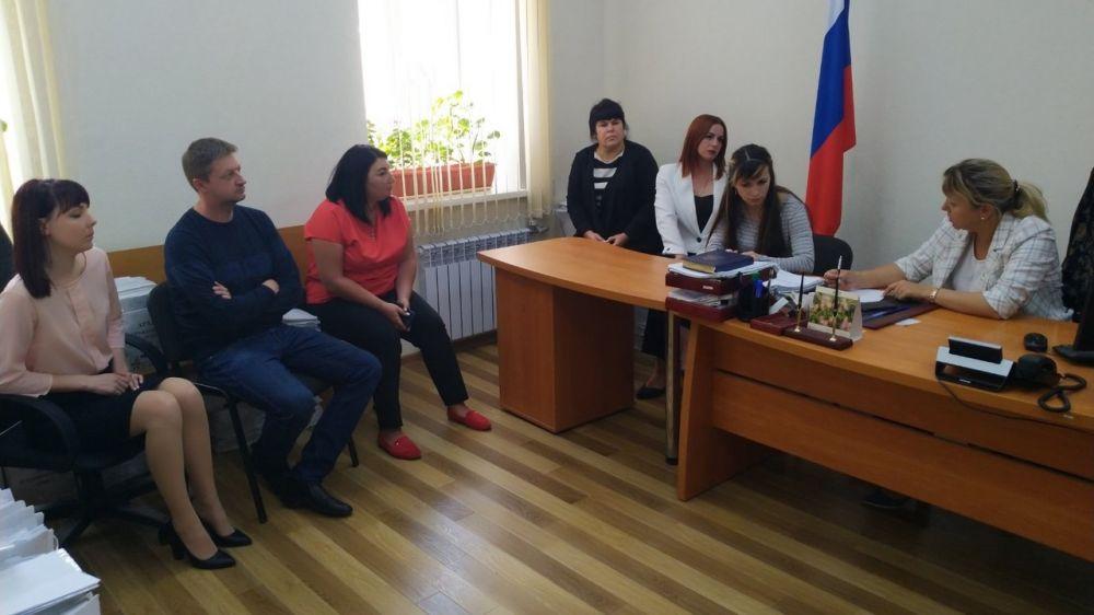 Людмила Назаренко посетила Феодосийский судебный район