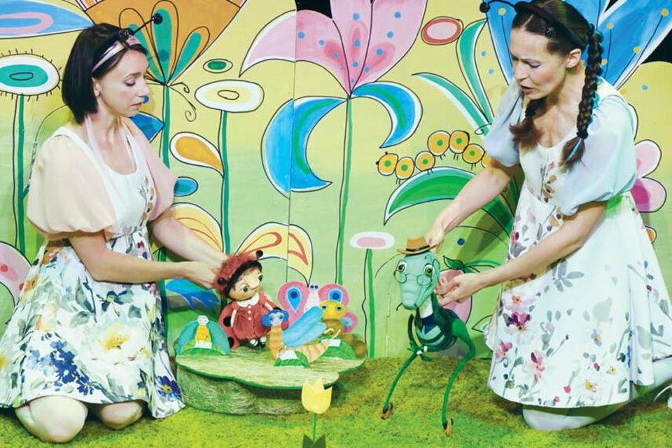 В театре кукол в Крыму прошла первая премьера в формате бэби-театра