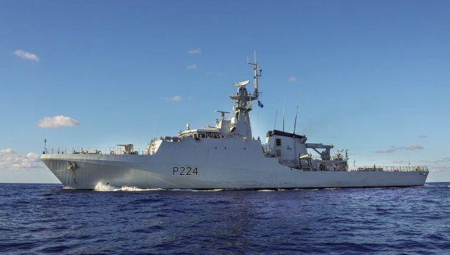 Британский патрульный корабль вошел в Черное море