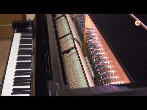 Новое фортепиано появилось в музыкальной школе № 6 (СЮЖЕТ)