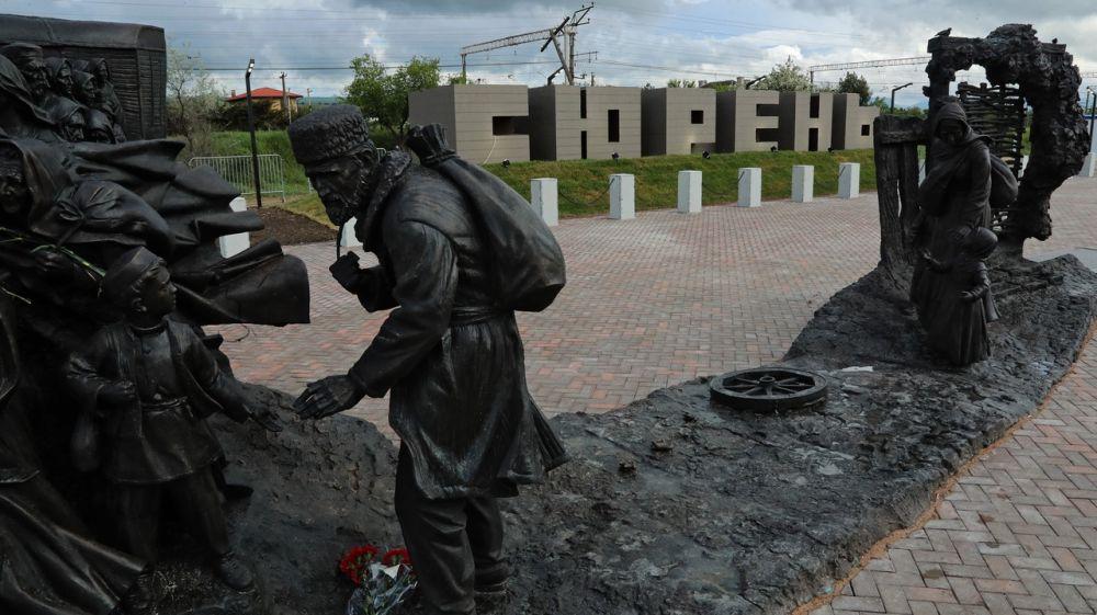 Сергей Аксёнов: Мемориальный комплекс на станции «Сирень» в Бахчисарайском районе объединяет крымчан всех национальностей
