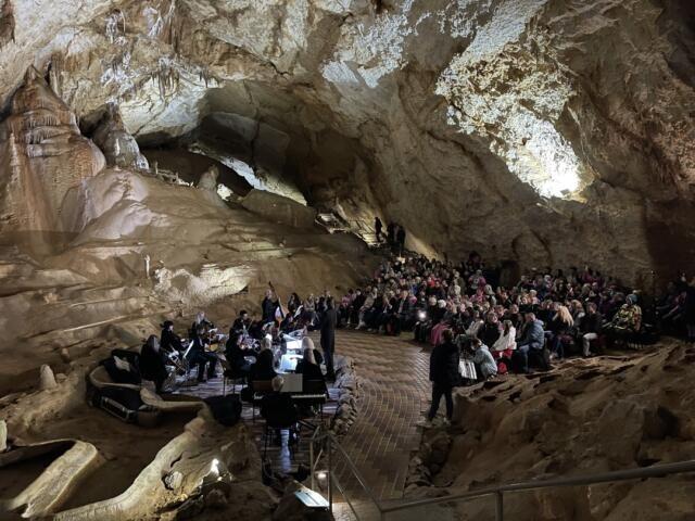 В пещере «Мраморная» стартовал сезон концертов