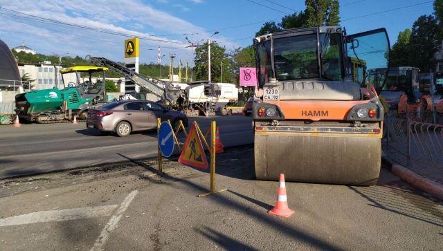 В Севастополе начали ремонт территории автовокзала