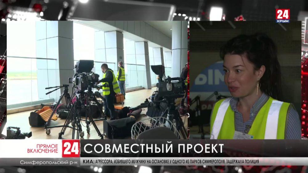 В международном аэропорту Симферополь продолжают готовиться к грандиозному «Сезону на взлёте»