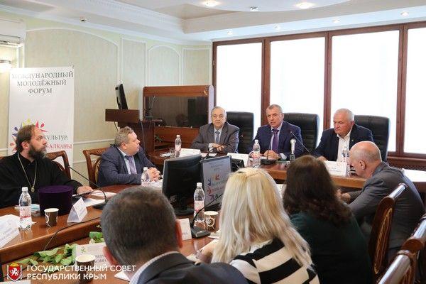 Владимир Константинов встретился с участниками Международного молодежного форума «Диалог культур: Россия — Балканы»