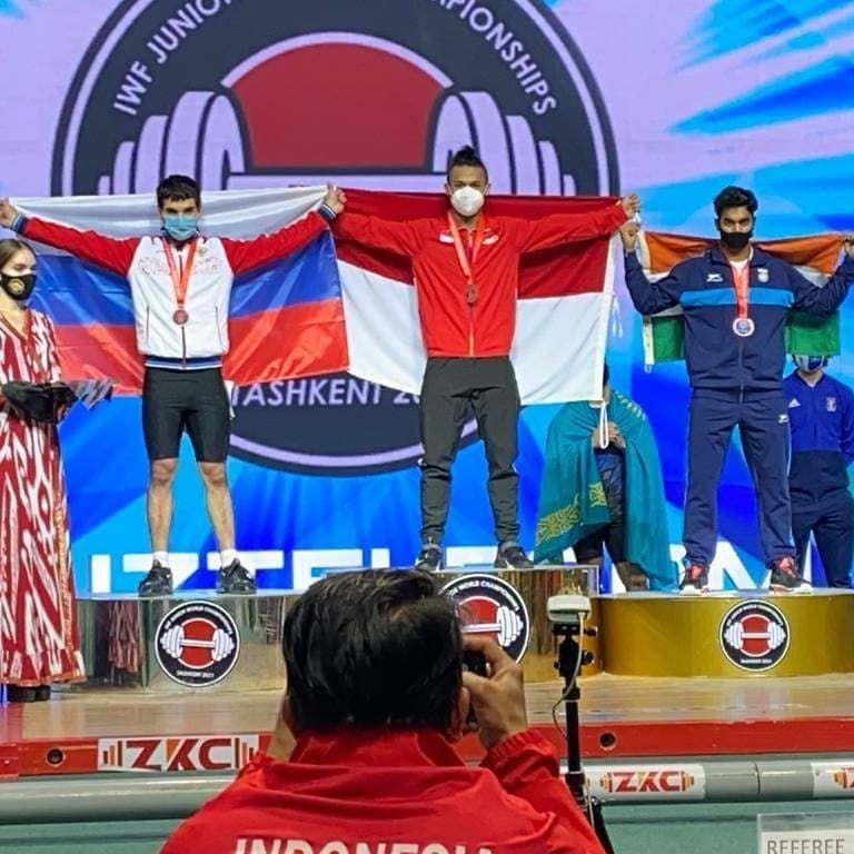 Крымчанин выиграл две медали юниорского первенства мира