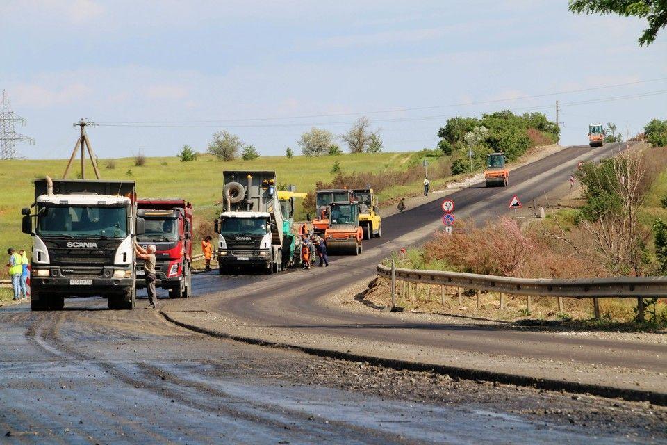Ремонт дороги от Симферополя до Евпатории обещают закончить к середине лета