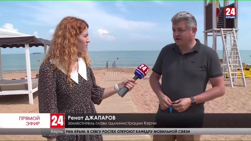 В Керчи с 1июня откроют пять пляжей