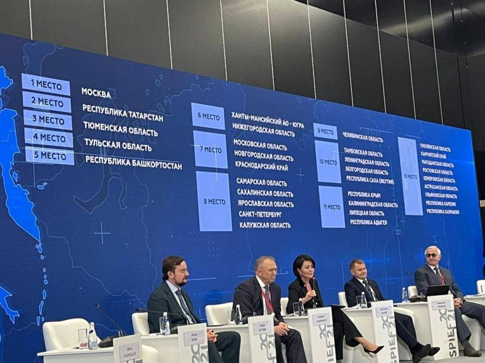 Крым занял 11 место в национальном рейтинге инвестиционного климата