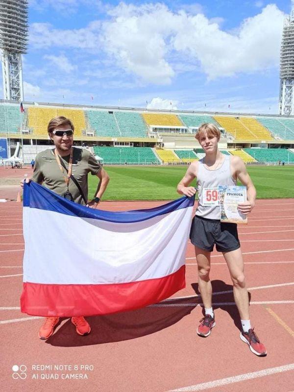Крымские легкоатлеты выиграли медали в Краснодаре