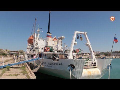 Ученики МАНа посетили научно-исследовательское судно «Профессор Водяницкий» (СЮЖЕТ)