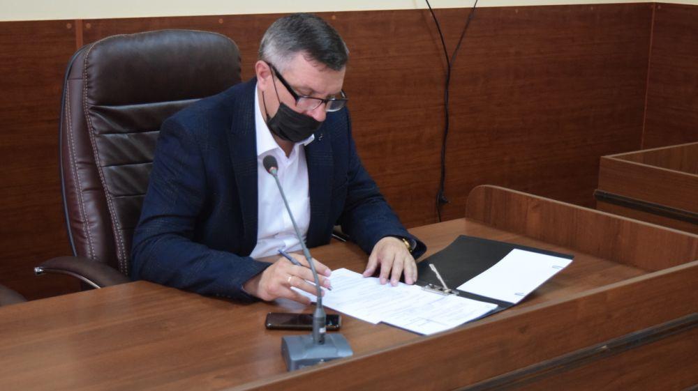 В администрации города Джанкоя прошло заседание коллегии
