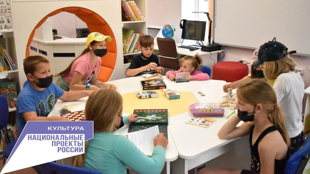 Библиотека нового поколения открыта в селе Ароматное Белогорского района