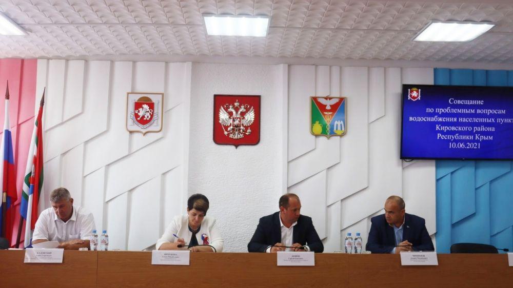 Сергей Донец принял участие в совещании в Кировском районе