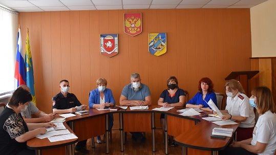 Андрей Сидоренко очередное заседание Административной комиссии Джанкойского района Республики Крым