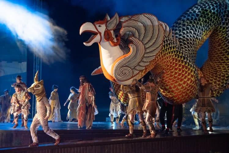 Семейный спектакль под открытым небом «Грифон» покажут 3 дня подряд в честь Дня России