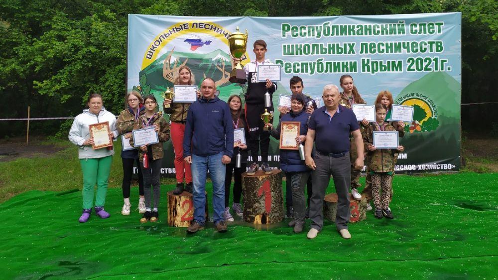 В Крыму состоялся Республиканский слет школьных лесничеств