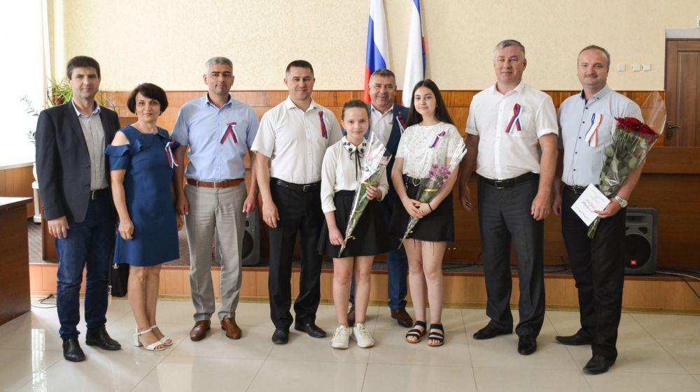 В Черноморском районе отметили один из самых важных праздников - День России
