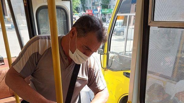В общественном транспорте района регулярно проводится профилактическая дезинфекция для предупреждения распространения Covid - 19