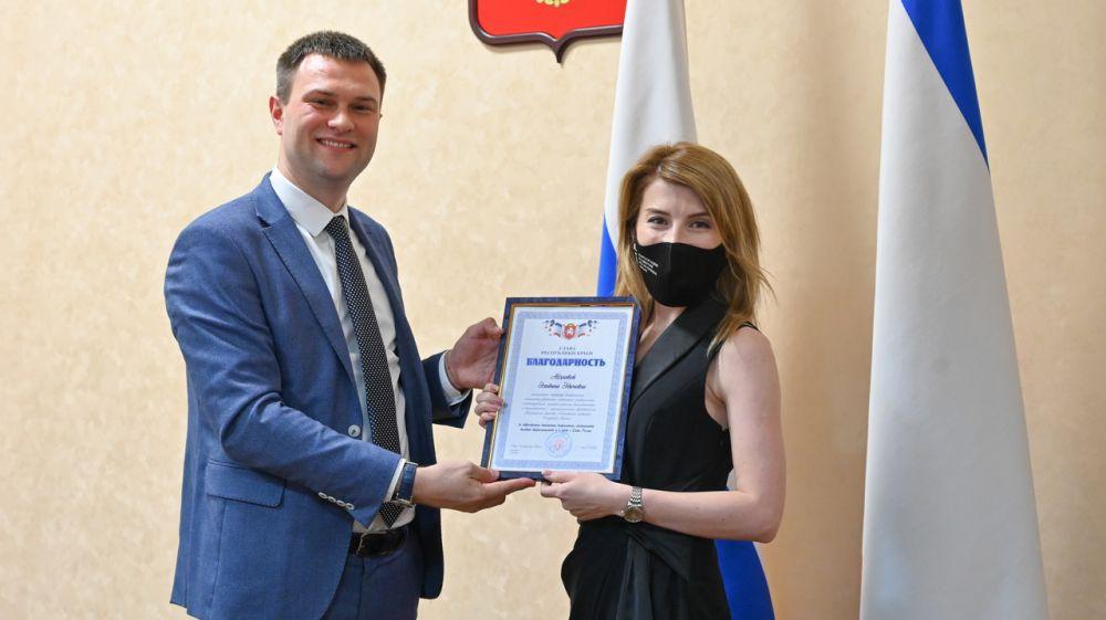 Дмитрий Шеряко вручил награды, приуроченные ко Дню России