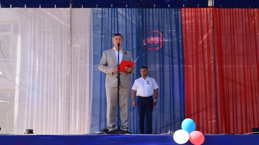 «Только вместе мы сильны»: в Джанкое отметили День России