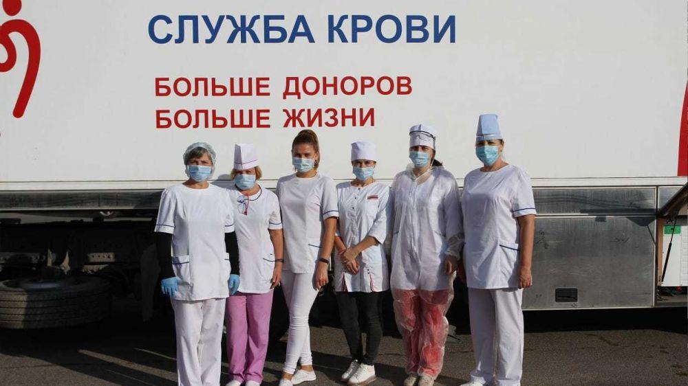 С начала 2021 года в Республике Крым донорами стали 14 186 человек