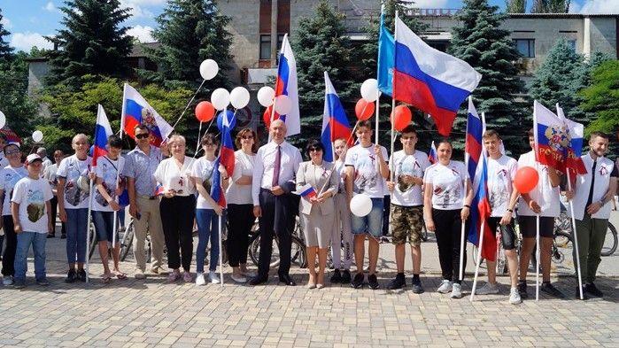 В Советском прошли мероприятия, посвященные Дню России
