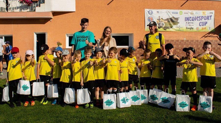 Партия «Новые люди» поддержала детский футбол в Крыму