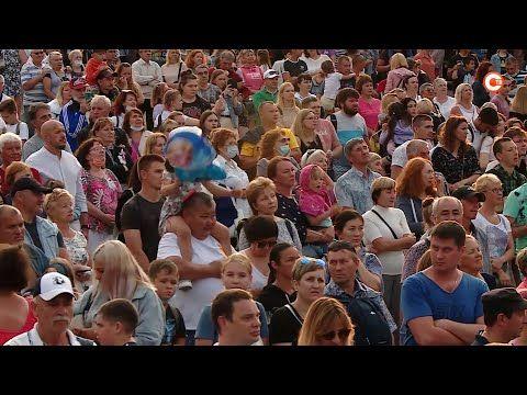 День рождения Севастополя завершился большим праздничным концертом (СЮЖЕТ)