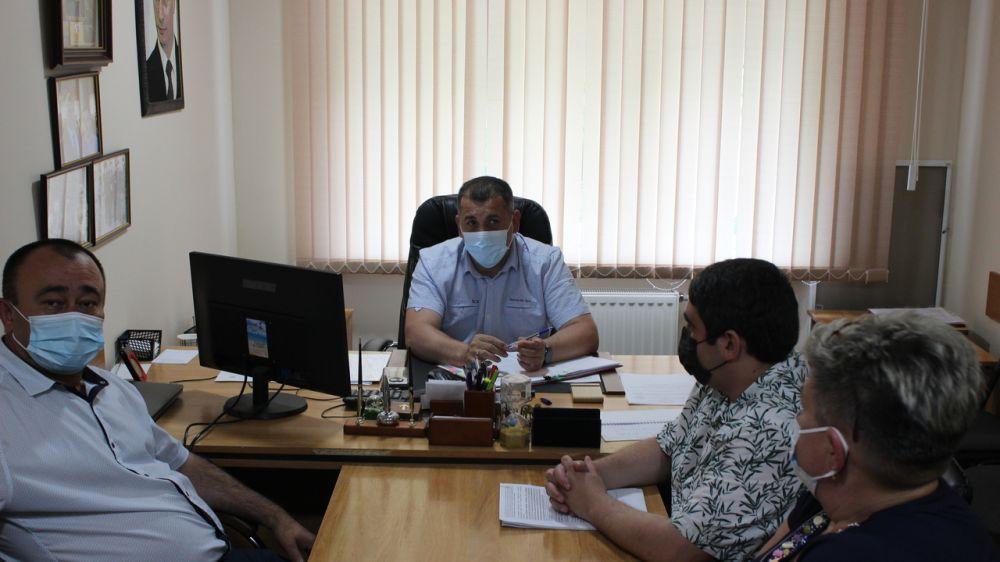 Олег Саннэ провел личный прием граждан