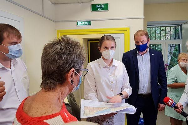 Анна Рубель: Строительство нового корпуса симферопольской поликлиники №5 позволит жителям получать качественное медицинское обслуживание