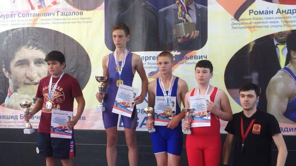 Соревнования по греко-римской борьбе в  г. Бахчисарай