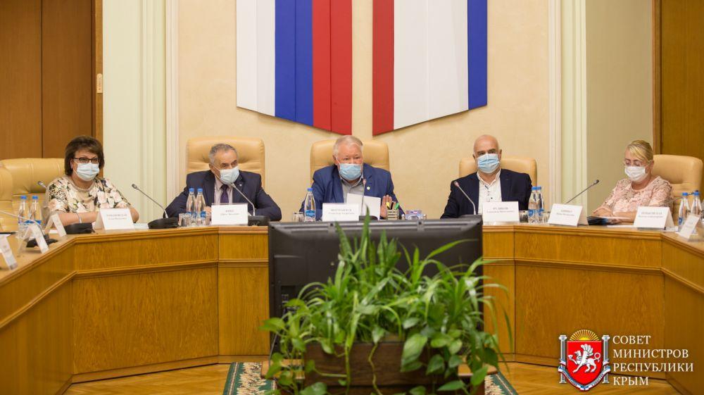 Состоялось расширенное заседание Совета Общественной палаты РК по вопросу ухудшения эпидемиологической ситуации с COVID-19