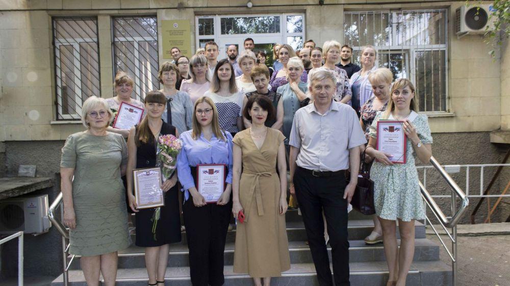 Состоялось собрание трудового коллектива Государственного архива Республики Крым
