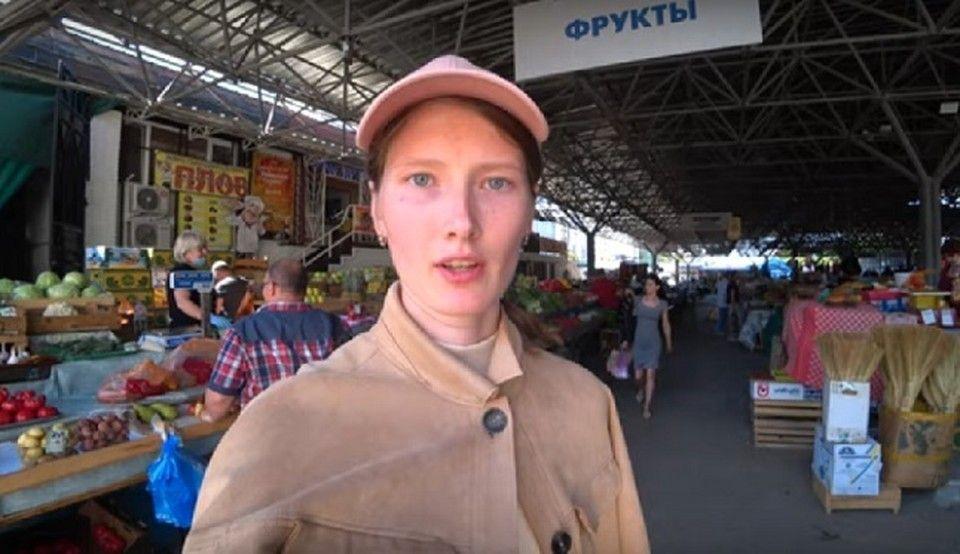«Пошла вон отсюда!»: Блогерша устроила переполох на рынке в Севастополе