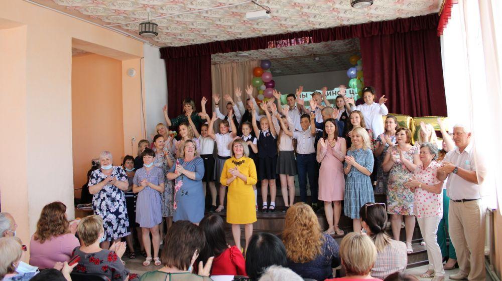 Таврическая школа Красноперекопского района отметила 55 - летний юбилей