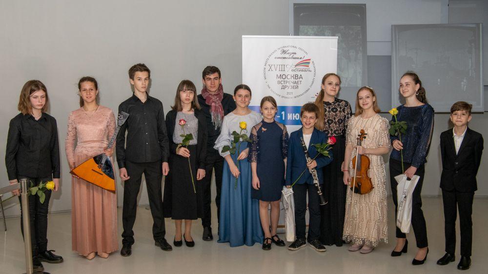 Юные крымчане и их педагоги приняли участие в Международном фестивале «Москва встречает друзей»