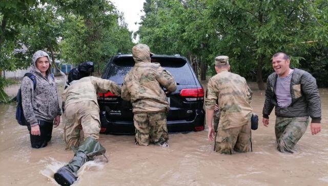 Потоп на востоке Крыма: подробности от МЧС и властей