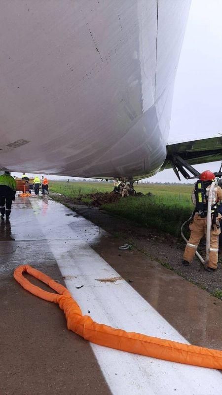 СК проверит причины выкатывания боинга за взлётную полосу в симферопольском аэропорту