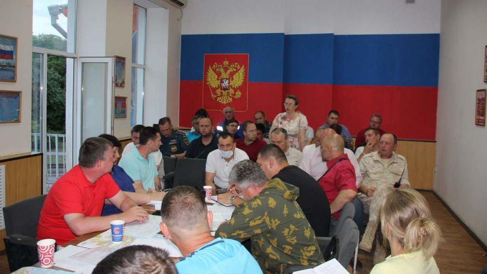Под руководством главы администрации Сергея БОРОЗДИНА состоялось очередное заседание штаба по ликвидации последствий стихии