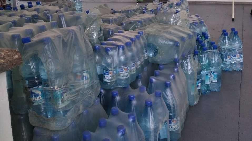 Андрей Рюмшин: Крымские сельхозтоваропроизводители помогают пострадавшим от чрезвычайной ситуации ялтинцам питьевой водой