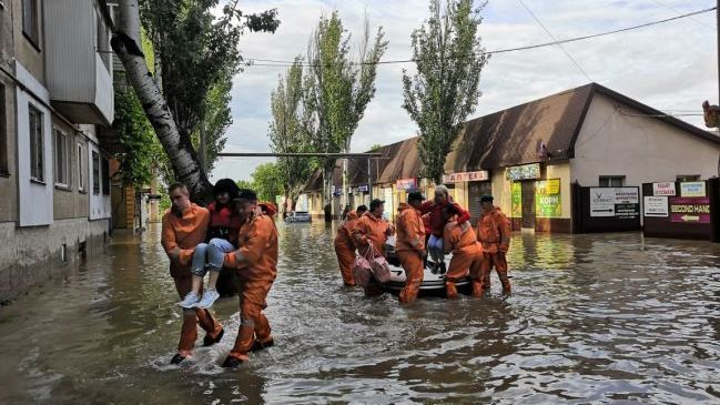 Информационная сводка о подтоплении в ГО Керчь и ГО Ялта (по состоянию на 06:00)