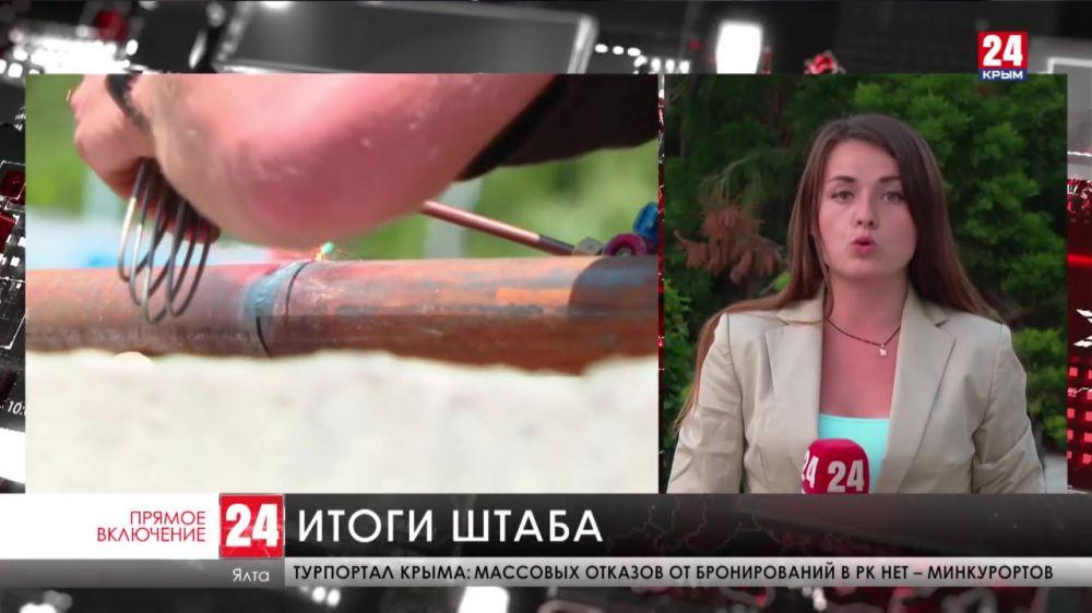 В ликвидации последствий потопа в Ялте задействовано тысяча человек и сотни единиц техники