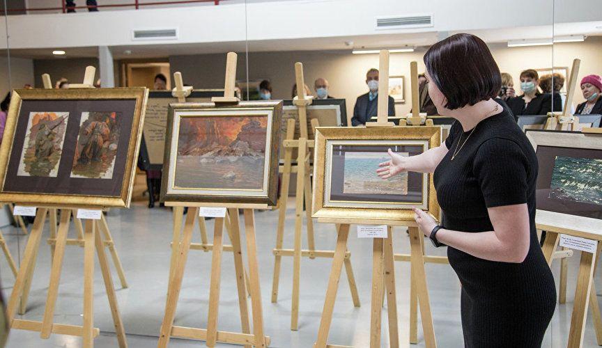 В Симферополе к столетию крымского художника Юрия Волкова откроют две выставки