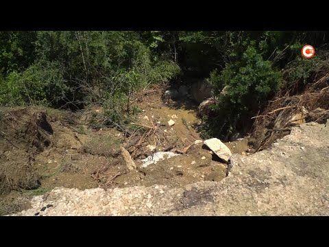 В водоемах сельской зоны Севастополя снижается уровень воды (СЮЖЕТ)